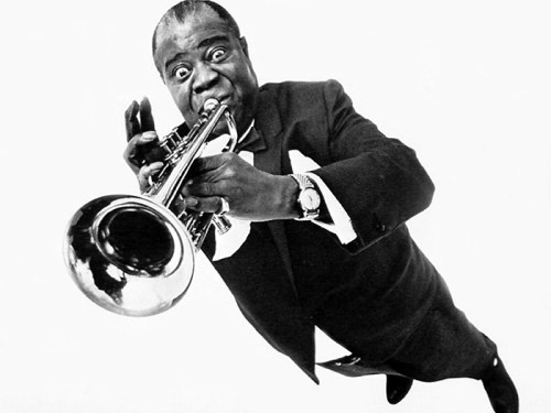 Black to the Music - Louis Armstrong - 05
