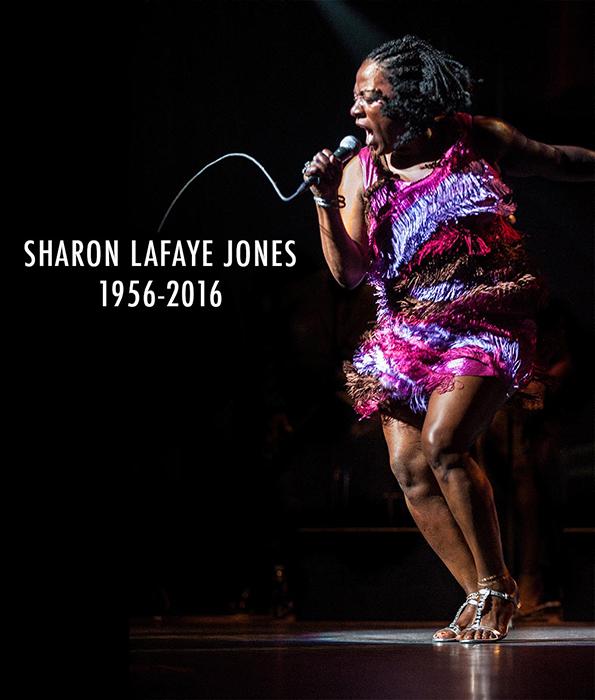 Black to the Music - RIP Sharon Jones