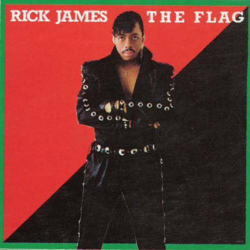 Black to the Music - Rick James - 1986 - The Flag