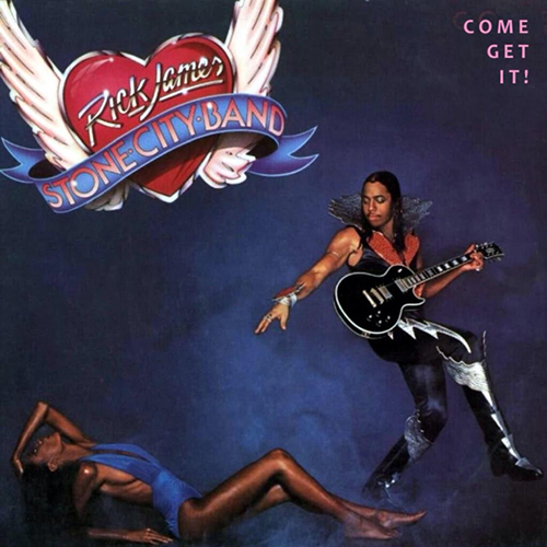 Black to the Music - Rick James & Stone City Band - 1978 - Come Get It!