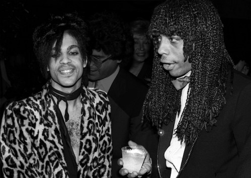 Black to the Music - Rick James and Prince
