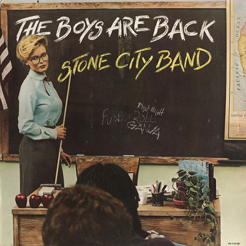 Black to the Music - Stone City Band - 1981 - The Boys Are Back