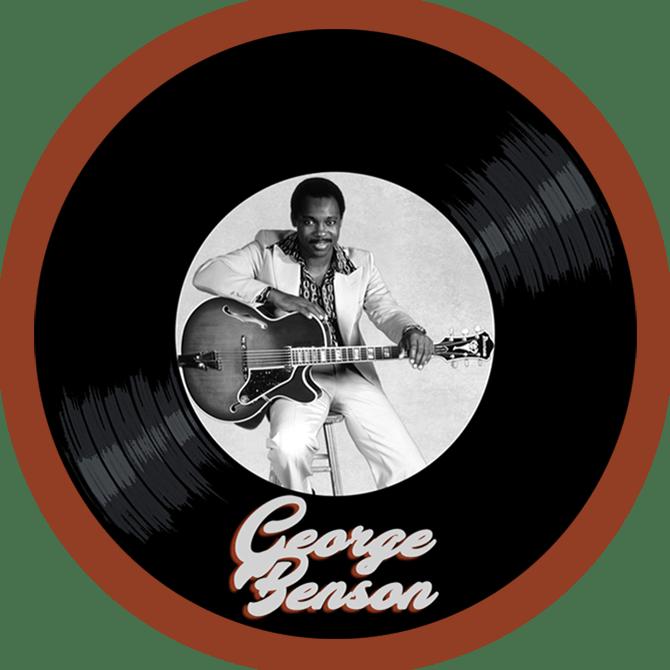 Black to the Music - George Benson - logo header