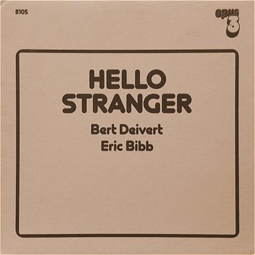 Black to the Music - Eric Bibb - 1983 - Eric Bibb & Bert Deivert - Hello Stranger