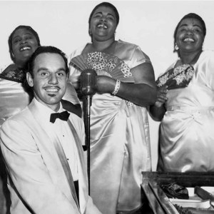 Black to the Music - Johnny Otis - 15 Johnny Otis with Marie Adams & The Three Tons of Joy
