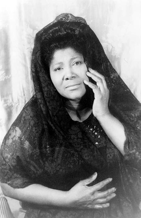 Black to the Music - Mahalia Jackson - A3 - (c) Wikimedia Commons