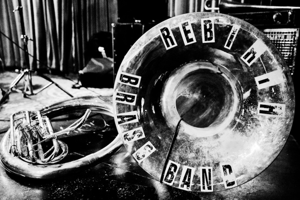Black to the Music - Rebirth Brass Band - G11