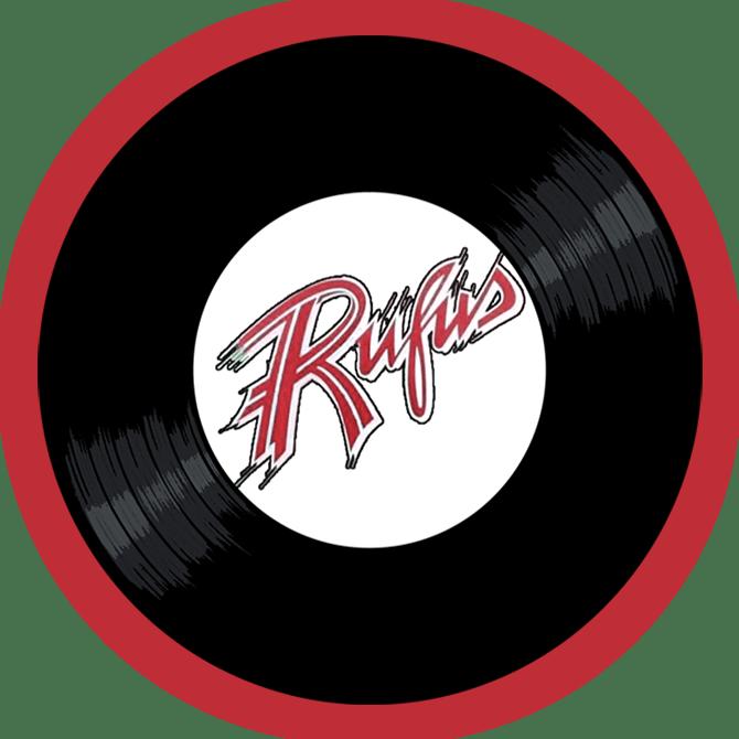 Black to the Music - Rufus logo header