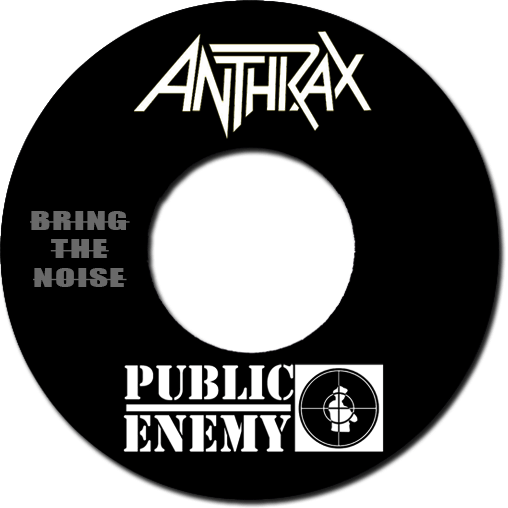 Black to the Music - Anthrax + Public Enemy - Bring The Noize