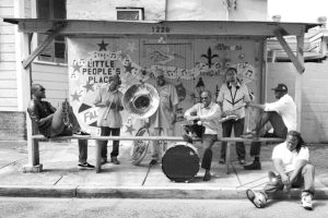 Black to the Music - Basin Street records - Rebirth Brass Band