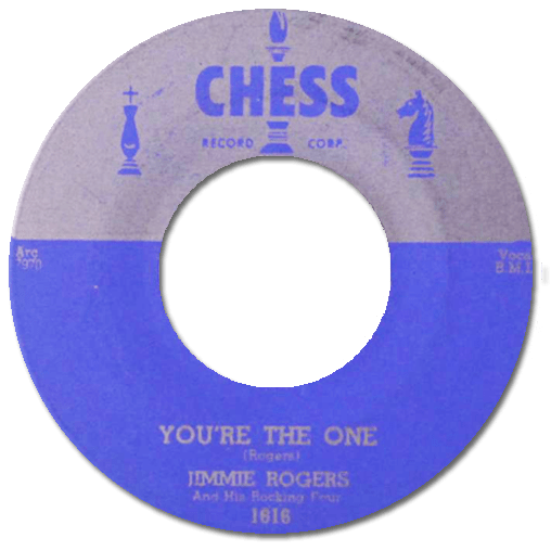 Black to the Music - 45t Jimmy Rogers - You're The One