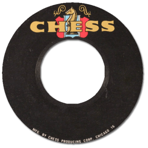 Black to the Music - 45t logo Chess Records 03