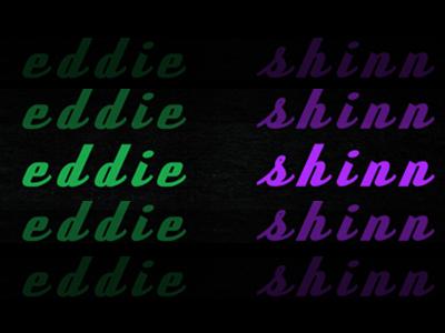 Black to the Music - eddie shinn