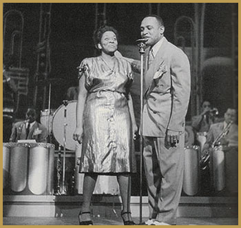Black to the Music - Dinah Washington and Lionnel Hampton