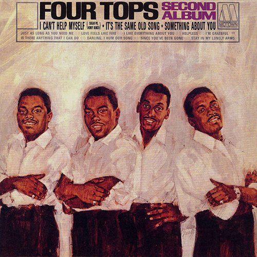 Black to the Music - The Four Tops - LP 02-1965 Second Album