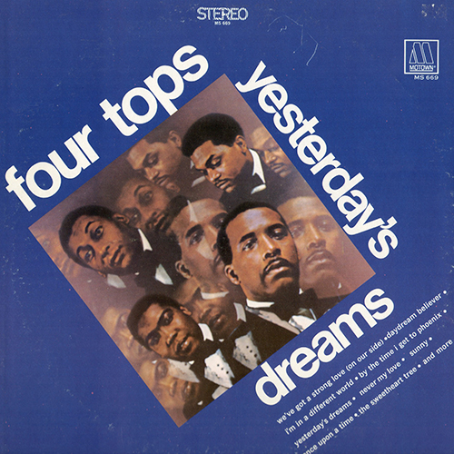 Black to the Music - The Four Tops - LP 07-1968 Yesterday's Dreams