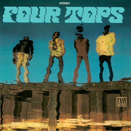 Black to the Music - The Four Tops - LP 10-1970 Stll Water Run Deep