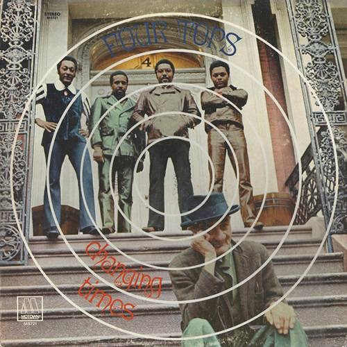 Black to the Music - The Four Tops - LP 11-1970 Changing Time