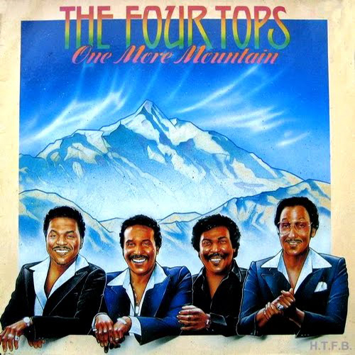 Black to the Music - The Four Tops - LP 25-1982 One More Mountain