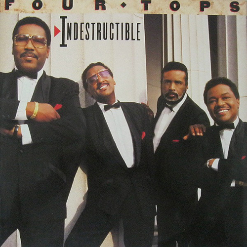 Black to the Music - The Four Tops - LP 28-1988 Indestructible
