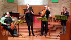 Black Tulip Performing g Reformation Music from Martin Luther to Bach & Telemann, Lutheran Church of the Ascension, Northfield, IL, October, 2017