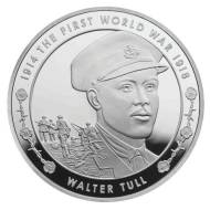 Royal Mint has created a coin in honour of Tull for the WWI centenary