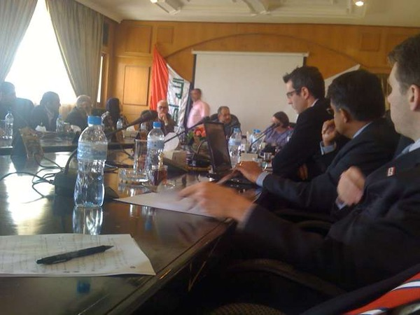 State Dept Social Networking Delegation in Iraq.