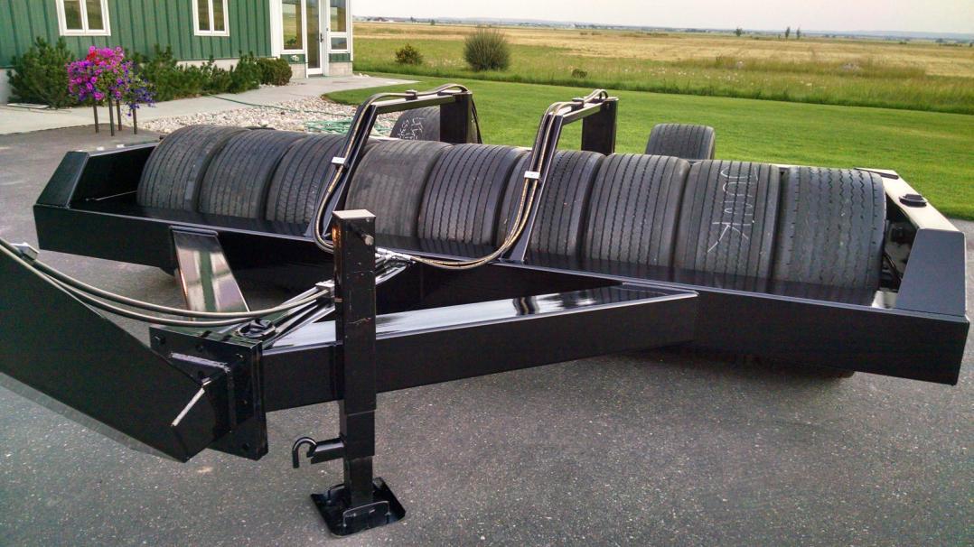 18 foot tire roller
