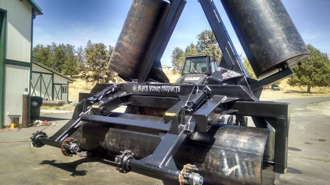 36 ft land roller