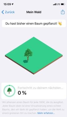 Blackwater.live - Bäume pflanzen mit bunq