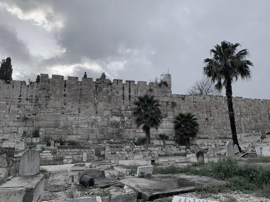 Blackwater.live - Muslimischer Friedhof Jerusalem