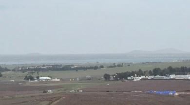 Al Qunaytirah. Das UN-Camp in der Pufferzone ist gut zu erkennen.