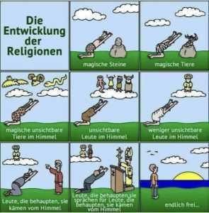 Die Entwicklung der Religionen