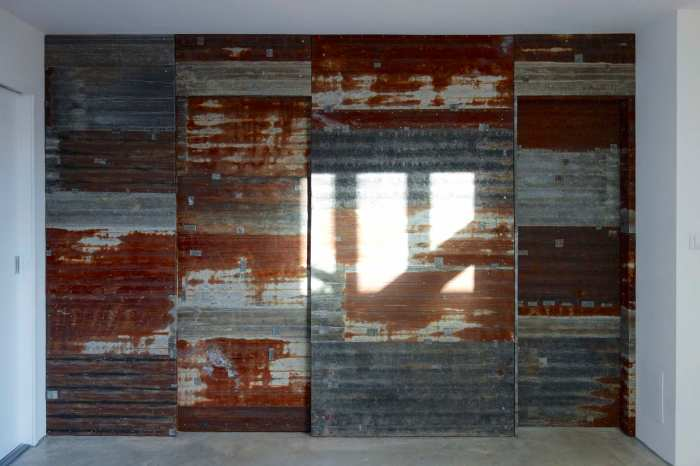 02 flattened wall