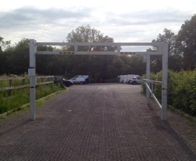 height barrier