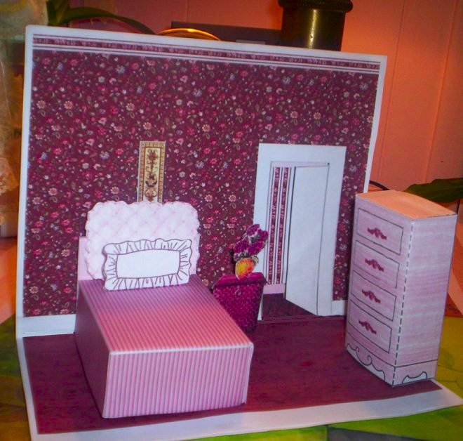 Paper Crafts Playsets DwellingsFurniture Ammeys