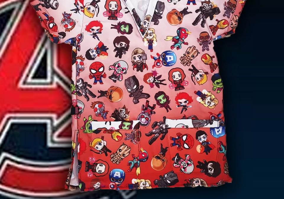 Q142. Avengers Chibi Red