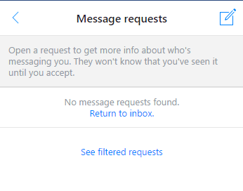 Message Requests