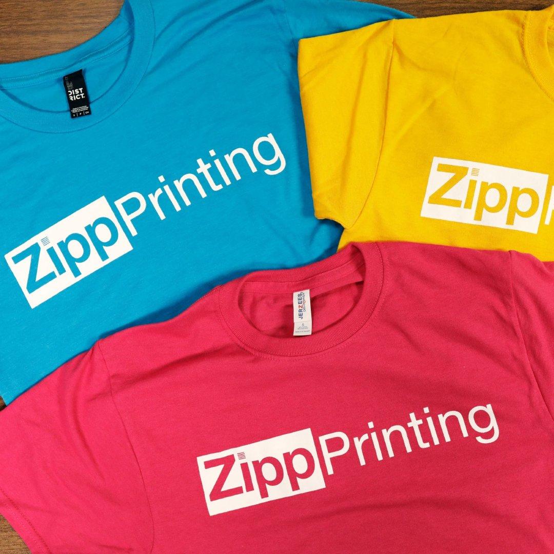 Apparel Design blackwood creative Zipp printing