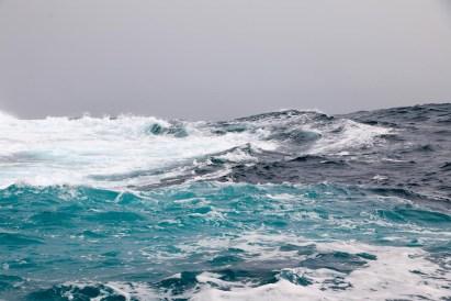 Die Farben des Meeres lassen sich fast nicht festhalten.