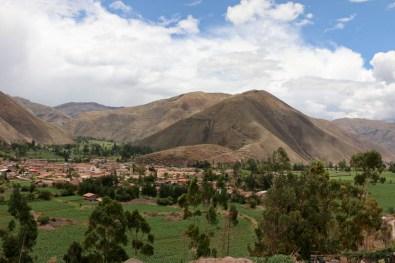 Sicht auf Huaro