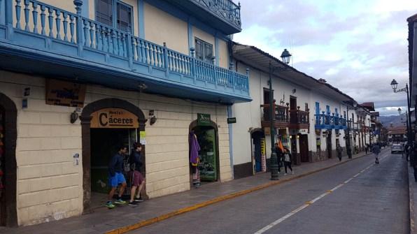 Gasse in C Cusco
