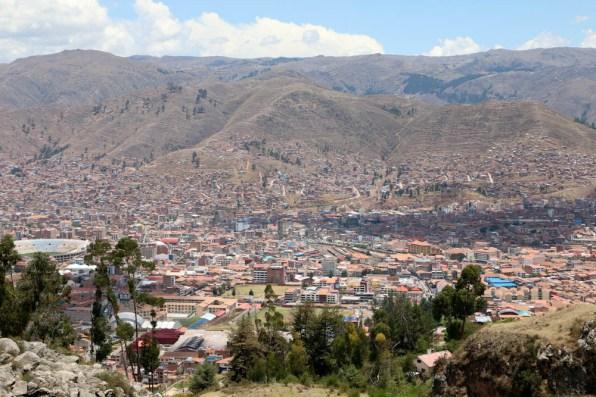 Aussicht auf Cusco