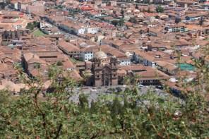 Ausblick auf die Plaza de Armas in Cusco
