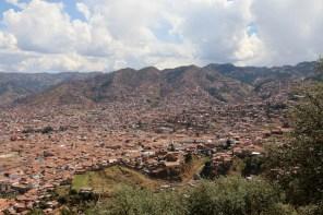 Ausblick auf Cusco