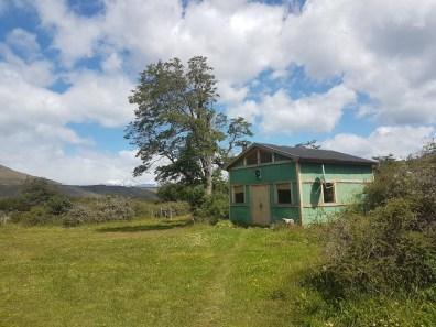 Unser Wohnhaus auf der Estancia