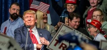 Donald Trump civil war