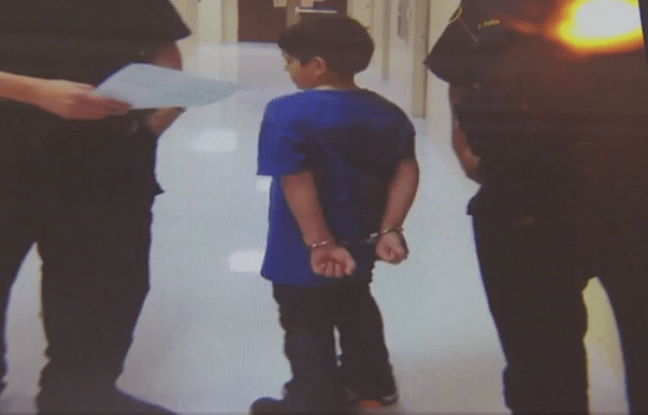 Dallas school police use taser and handcuffs to restrain 7-year-old student with special needs