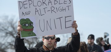 Trump Alt Right Support KKK