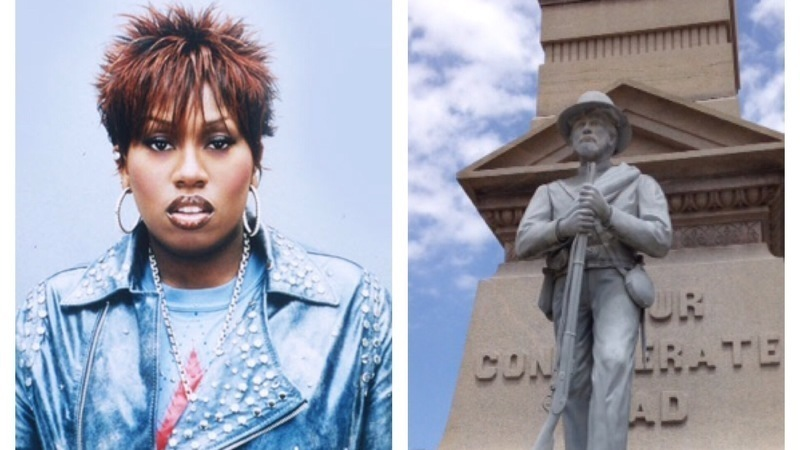 Petition started to replace Confederate statue with sculpture of Missy Elliot